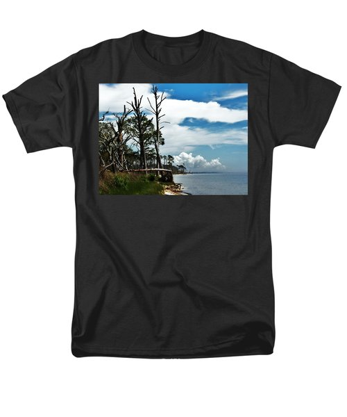 Men's T-Shirt  (Regular Fit) featuring the photograph Hurricane Trail by Faith Williams