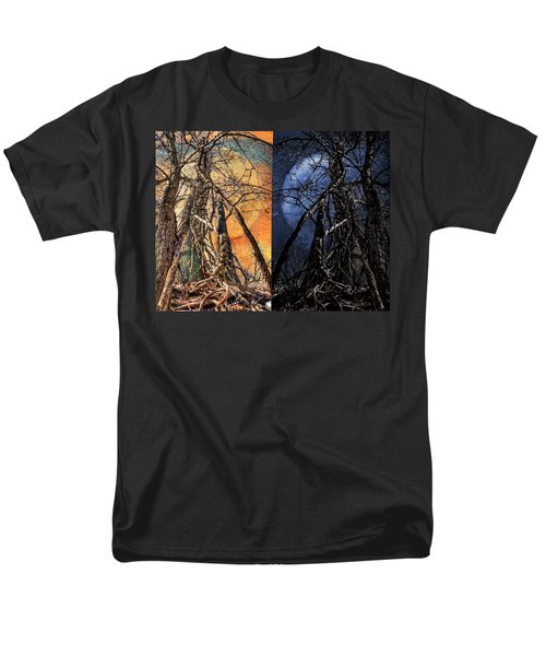 I Love You Day And Night Men's T-Shirt  (Regular Fit) by Rick Mosher