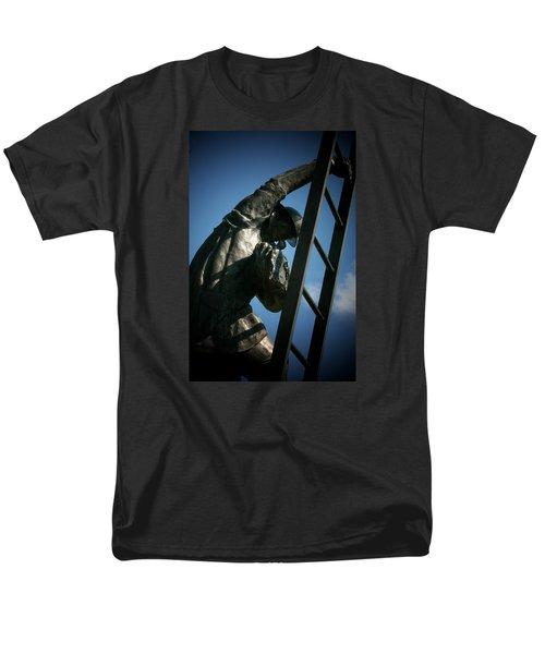 Iaff Fallen Firefighters Memorial  2 Men's T-Shirt  (Regular Fit) by Susan  McMenamin