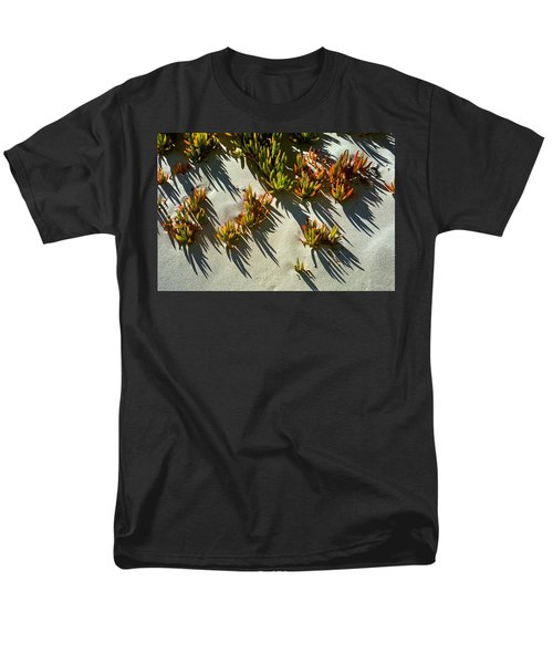 Ice Plant In Sand Men's T-Shirt  (Regular Fit)