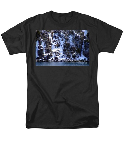 Icicle House Men's T-Shirt  (Regular Fit) by Barbara Griffin