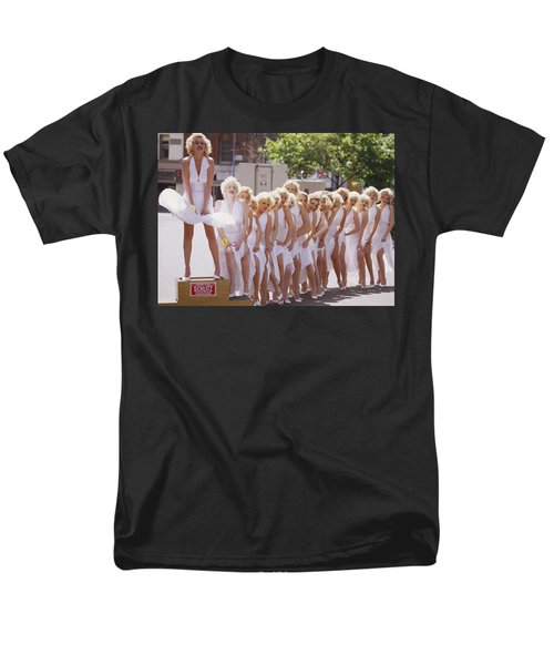 Iconic Marilyn Men's T-Shirt  (Regular Fit) by Shaun Higson