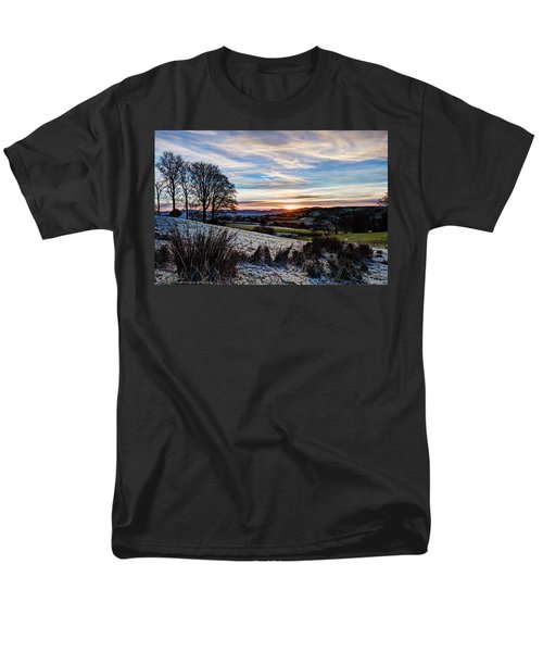 Icy Sunset Men's T-Shirt  (Regular Fit) by Beverly Cash