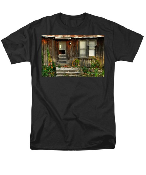 Men's T-Shirt  (Regular Fit) featuring the photograph Idaho Retirement Estates by Sam Rosen