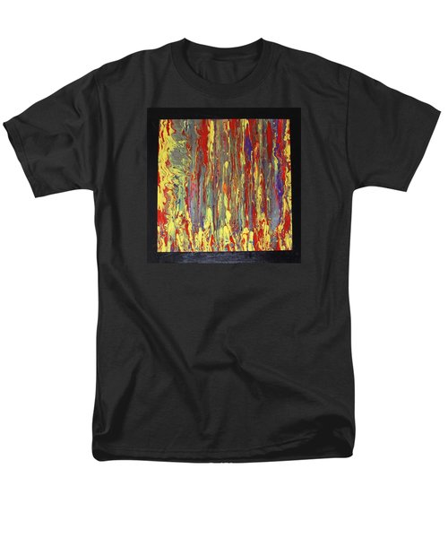 Men's T-Shirt  (Regular Fit) featuring the painting If...then by Michael Cross