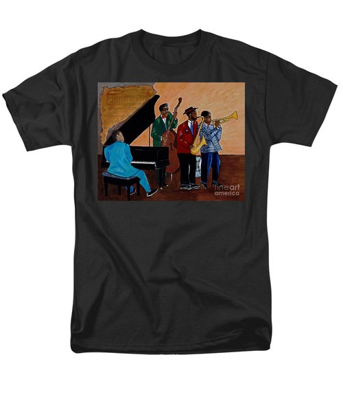 Im Moving On Men's T-Shirt  (Regular Fit) by Barbara McMahon
