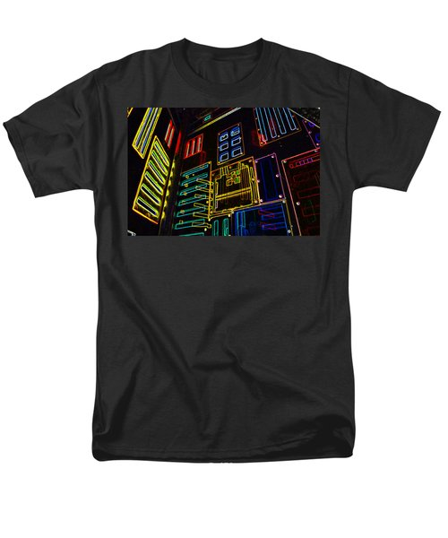 In A Neon-box Men's T-Shirt  (Regular Fit) by Tine Nordbred