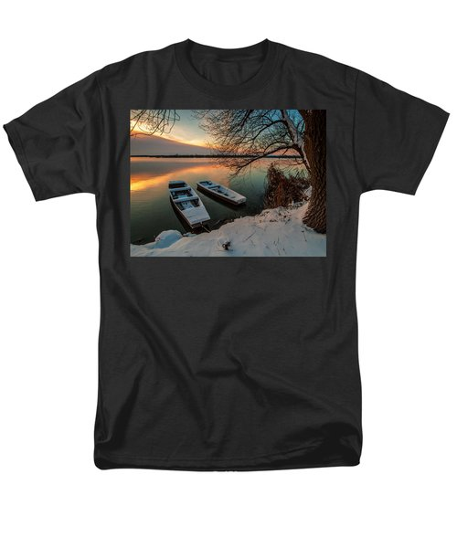 In Safe Harbor Men's T-Shirt  (Regular Fit) by Davorin Mance