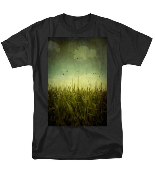 In The Field Men's T-Shirt  (Regular Fit) by Trish Mistric