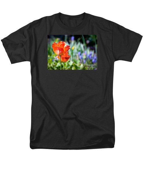 Men's T-Shirt  (Regular Fit) featuring the photograph In The Garden by Kerri Farley