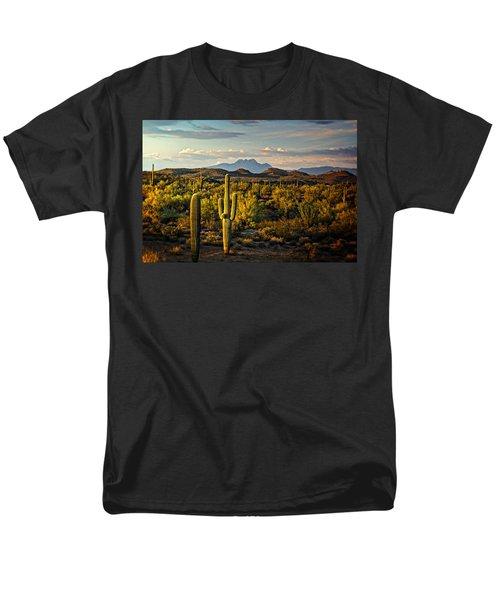 In The Golden Hour  Men's T-Shirt  (Regular Fit) by Saija  Lehtonen
