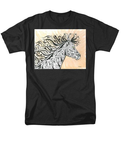 In The Wind Men's T-Shirt  (Regular Fit) by Susie WEBER