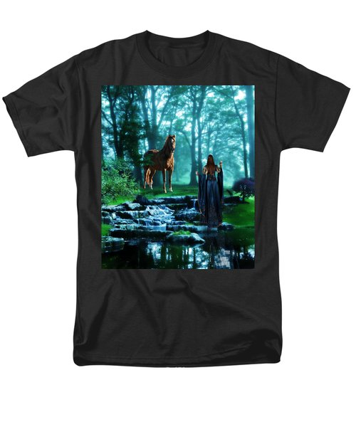 In The Woods Men's T-Shirt  (Regular Fit) by Davandra Cribbie