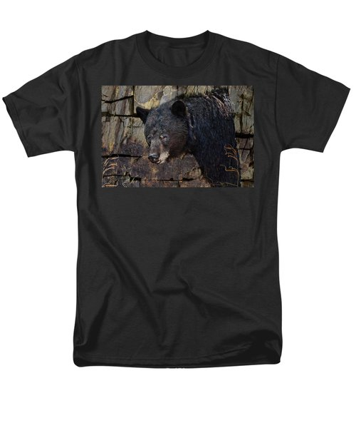 Inconspicuous Bear Men's T-Shirt  (Regular Fit) by Ed Hall