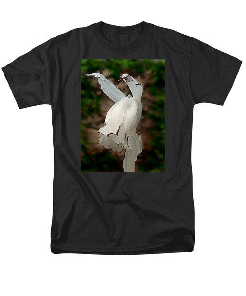 Men's T-Shirt  (Regular Fit) featuring the photograph Indian Pipe by William Tanneberger