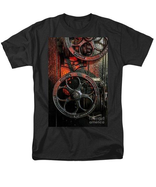 Industrial Wheels Men's T-Shirt  (Regular Fit) by Carlos Caetano
