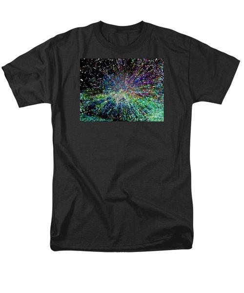 Information Explosion Men's T-Shirt  (Regular Fit) by Mariarosa Rockefeller