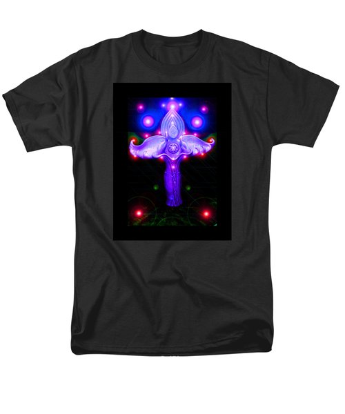 Men's T-Shirt  (Regular Fit) featuring the photograph Inner Galactic Symphonics by Susanne Still