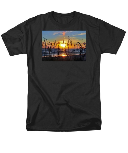 Men's T-Shirt  (Regular Fit) featuring the photograph Inside The Sunset by Kicking Bear  Productions