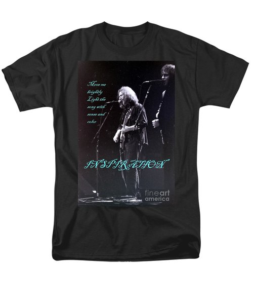 Men's T-Shirt  (Regular Fit) featuring the photograph Inspiration Move Me Brightly - Concerts -  Dead by Susan Carella