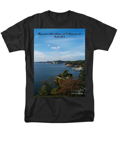 Inspirations 6 Men's T-Shirt  (Regular Fit) by Sara  Raber