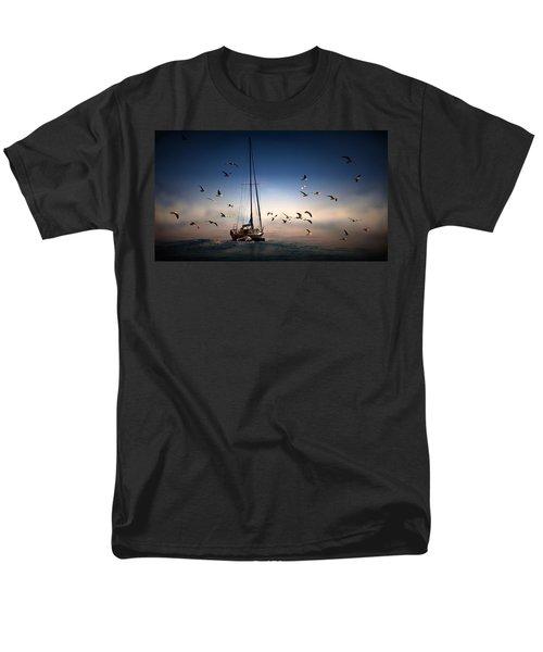 Into The Blue Men's T-Shirt  (Regular Fit) by Davandra Cribbie