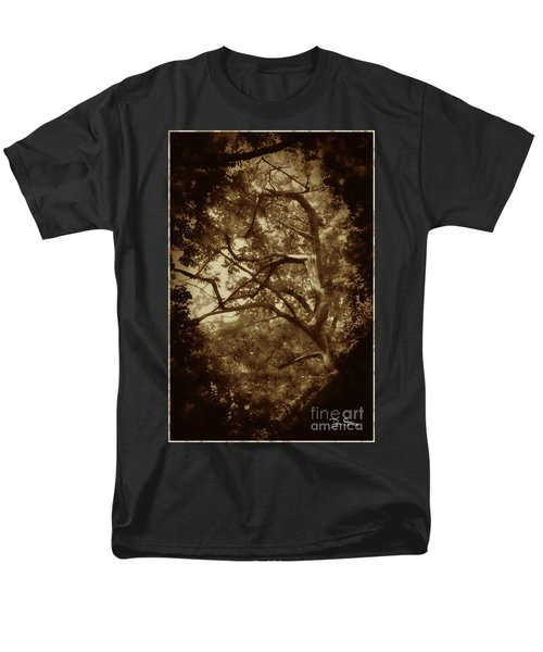 Into The Dark Wood Men's T-Shirt  (Regular Fit) by Dan Stone