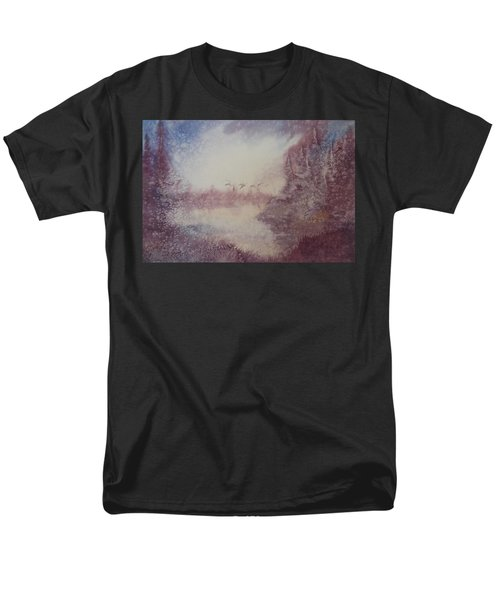 Men's T-Shirt  (Regular Fit) featuring the painting Into The Storm by Richard Faulkner