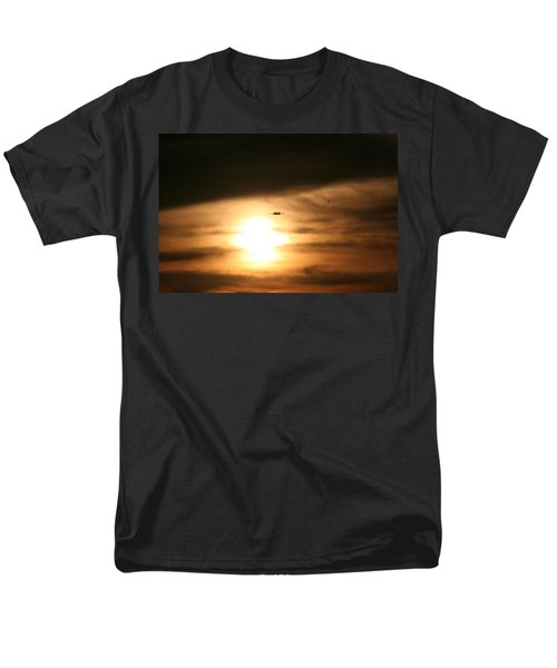 Men's T-Shirt  (Regular Fit) featuring the photograph Into The Sun by David S Reynolds