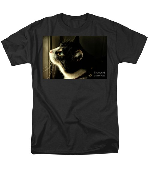 Intrigued Men's T-Shirt  (Regular Fit) by Shari Nees