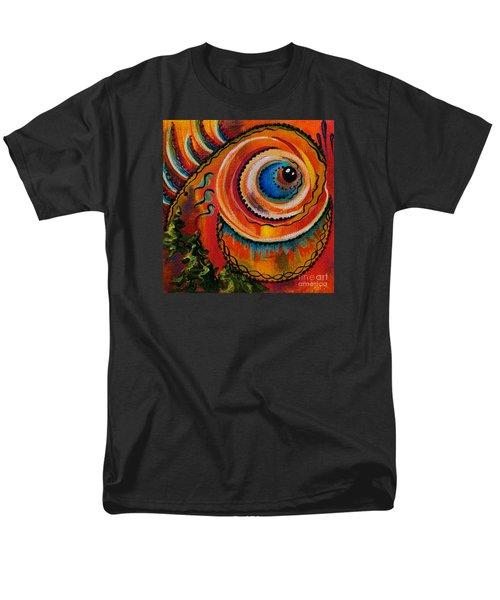 Men's T-Shirt  (Regular Fit) featuring the painting Intuitive Spirit Eye by Deborha Kerr