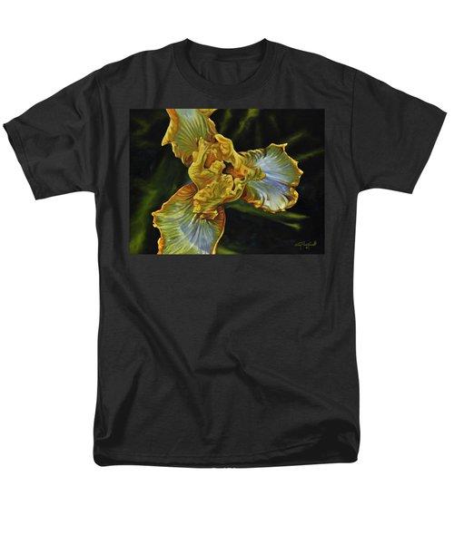 Iris Men's T-Shirt  (Regular Fit) by Craig T Burgwardt