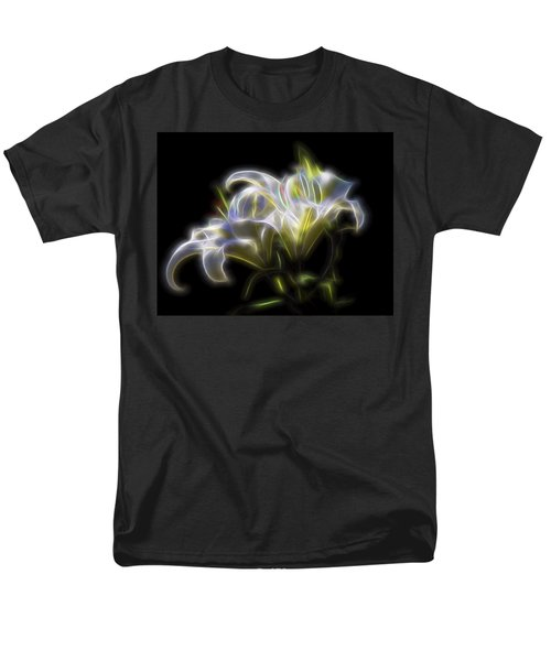 Men's T-Shirt  (Regular Fit) featuring the digital art Iris Of The Eye by William Horden