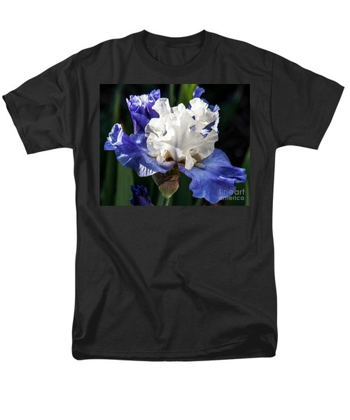 Men's T-Shirt  (Regular Fit) featuring the photograph Stairway To Heaven Iris by Roselynne Broussard