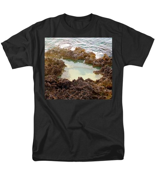 Men's T-Shirt  (Regular Fit) featuring the photograph Ironshore Tidewater Pool by Amar Sheow