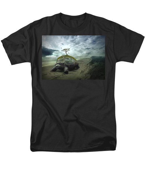 Iroquois Creation Story Men's T-Shirt  (Regular Fit) by Rick Mosher