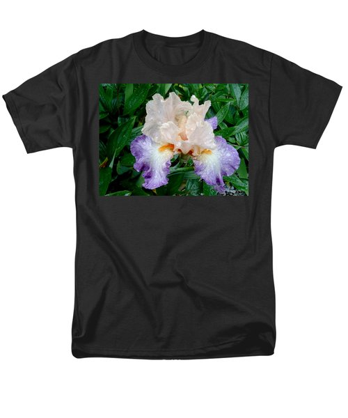 Irresistible Iris Men's T-Shirt  (Regular Fit) by Roxy Hurtubise