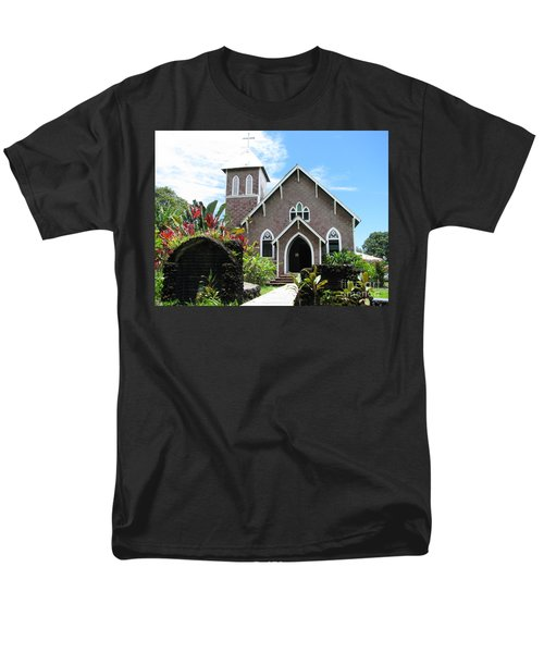Island Church Men's T-Shirt  (Regular Fit) by Michael Krek