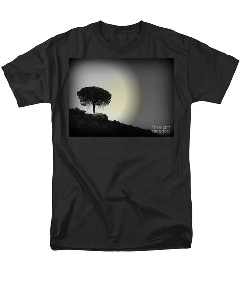 Men's T-Shirt  (Regular Fit) featuring the photograph Isolation Tree by Clare Bevan