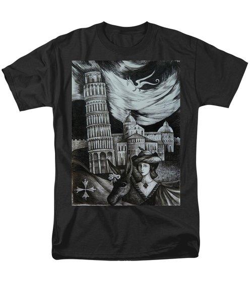 Italian Fantasies. Pisa Men's T-Shirt  (Regular Fit)