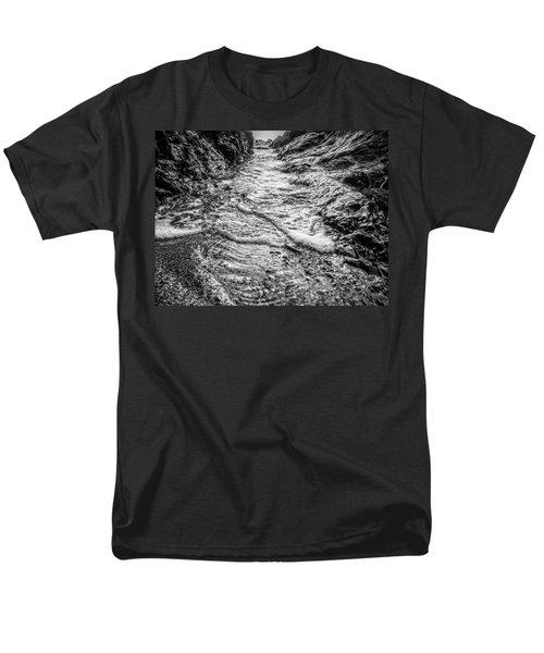 It's A Rush Browns Beach  Men's T-Shirt  (Regular Fit) by Roxy Hurtubise