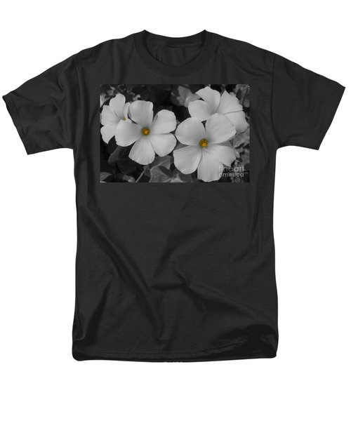 Men's T-Shirt  (Regular Fit) featuring the photograph Its Not All Black And White by Janice Westerberg