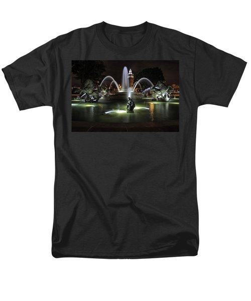 J C Nichols Fountain Men's T-Shirt  (Regular Fit)