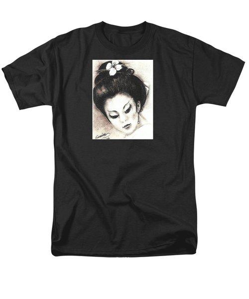 Japanese Girl. Men's T-Shirt  (Regular Fit) by Francine Heykoop