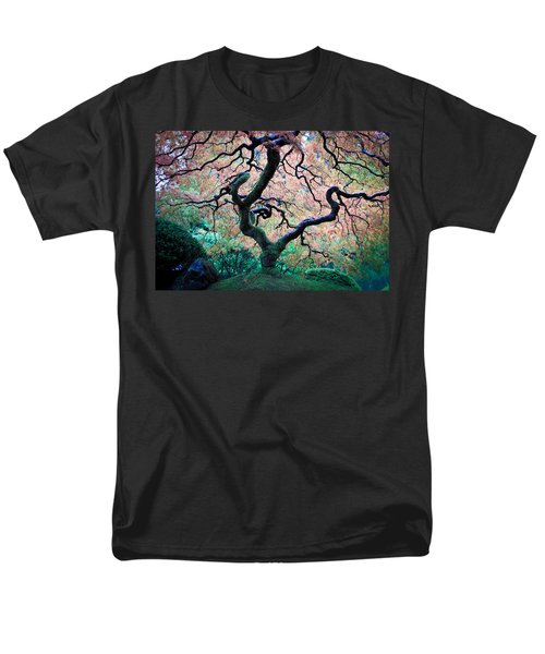 Japanese Maple In Autumn Men's T-Shirt  (Regular Fit) by Athena Mckinzie