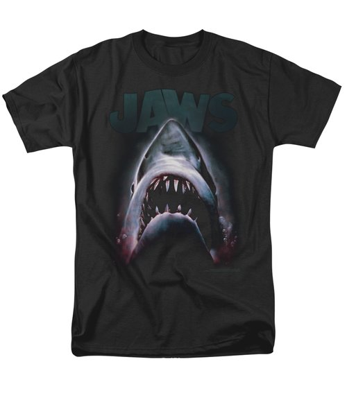 Jaws - Terror In The Deep Men's T-Shirt  (Regular Fit) by Brand A