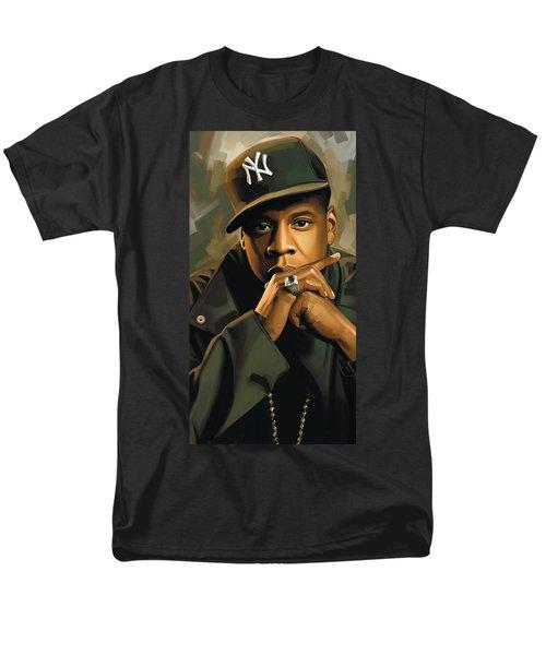 Jay-z Artwork 2 Men's T-Shirt  (Regular Fit) by Sheraz A