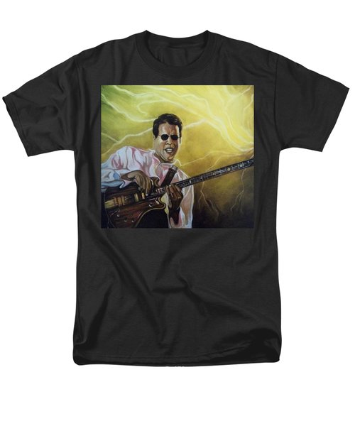 Men's T-Shirt  (Regular Fit) featuring the painting Jazz by Emery Franklin