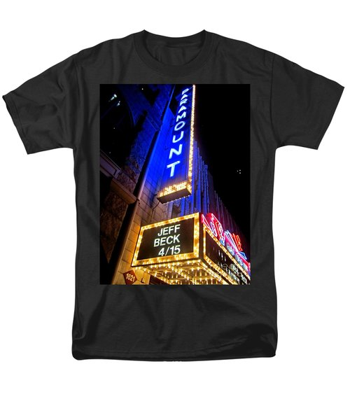 Men's T-Shirt  (Regular Fit) featuring the photograph Jeff Beck At The Paramount by Fiona Kennard