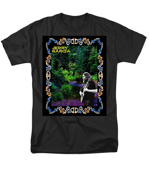 Men's T-Shirt  (Regular Fit) featuring the photograph Jerry At Psychedelic Creek by Ben Upham